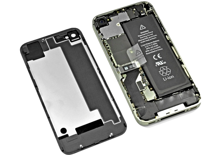 iphone 4 akku reparatur phone repair store handy. Black Bedroom Furniture Sets. Home Design Ideas