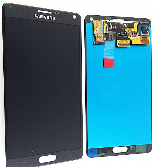 samsung galaxy note 4 display lcd glas reparatur phone repair store handy reparatur in. Black Bedroom Furniture Sets. Home Design Ideas